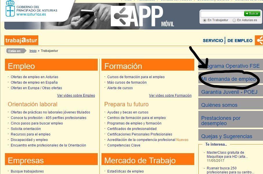 sellar paro trabajastur_Asturias