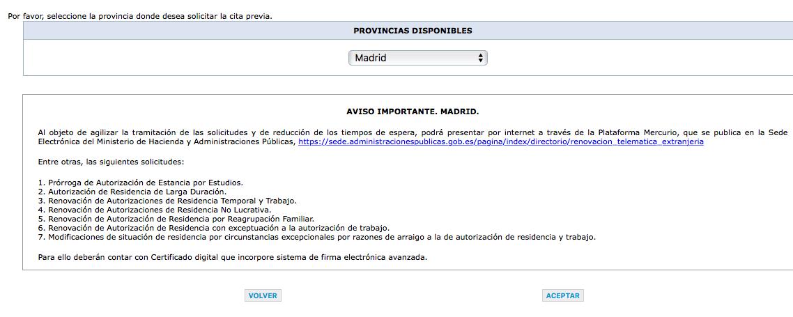 Cita previa extranjeria for Oficina extranjeria murcia