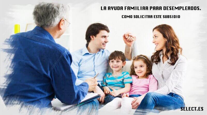 la ayuda familiar para desempleados