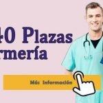 5.040 plazas para Enfermería. Presenta tu solicitud.