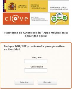 usuario clave app