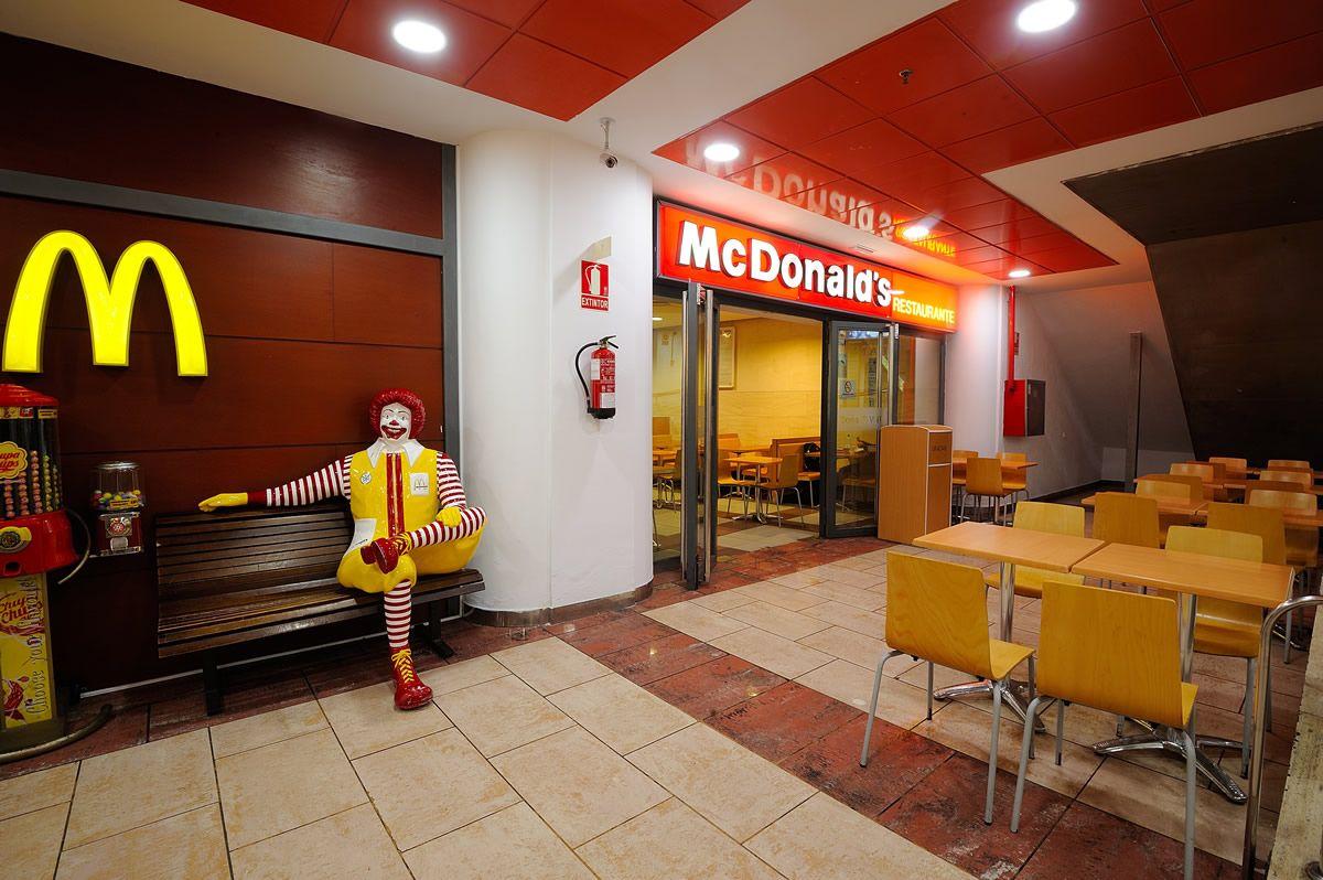 mcdonalds trabajo