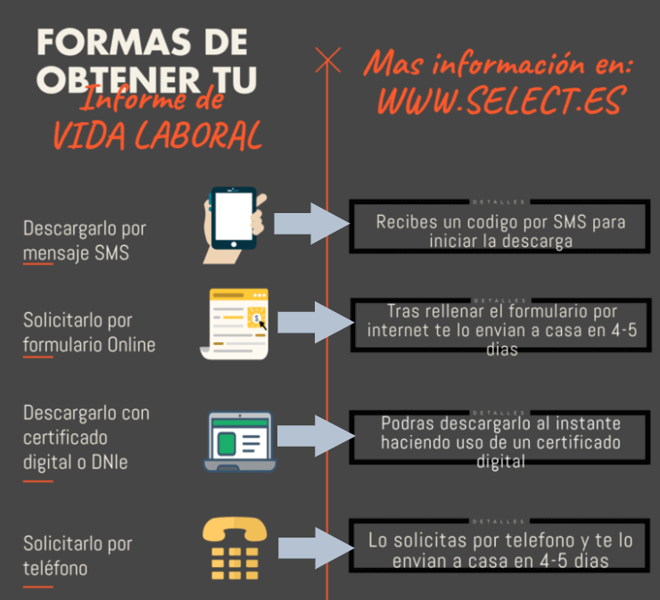 pedir vida laboral por internet