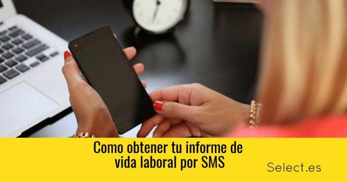 conseguir la vida laboral con SMS