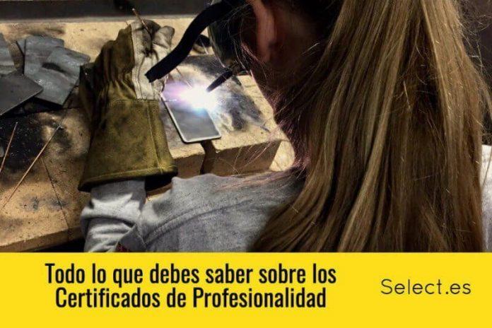 certificados de profesionalidad del SEPE