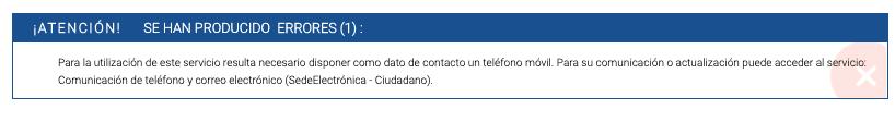 Comunicación de teléfono y correo electrónico