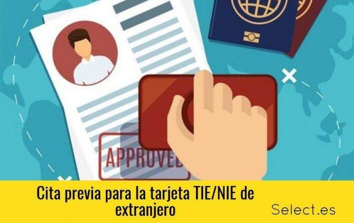 cita previa tie-nie-pasaporte