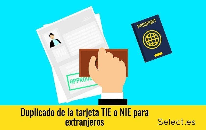 Duplicado tarjeta TIE o NIE para extranjeros