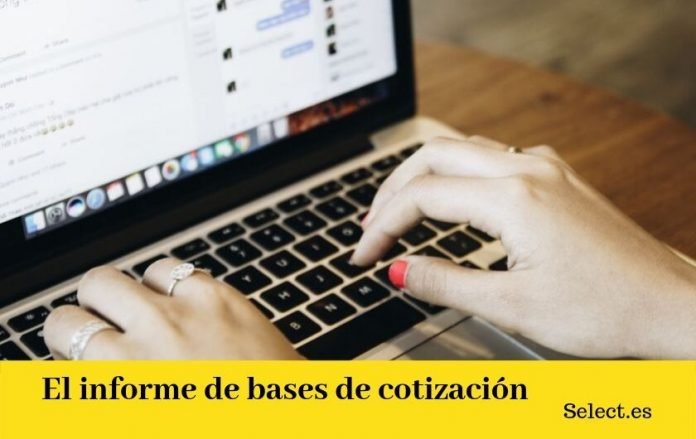 informes de bases de cotización
