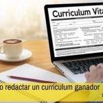 redactar curriculum vitae