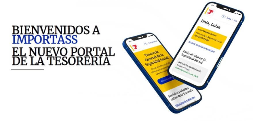 portal importass de la Tesoreria de la Seguridad Social